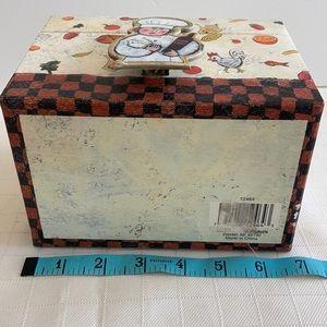 Storage & Organization - Recipe box by Barbara Olsen includes recipe clip